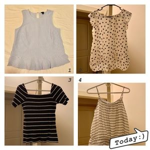 💗!!SALE!!💗 4 FOR $20 Excellent condition tops